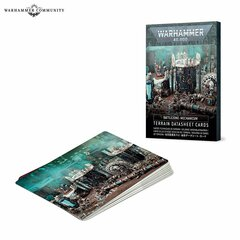 Battlezone Mechanicum: Terrain Cards (English)