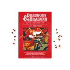 Dungeons & Dragons 1000-Piece Puzzle (Second Edition)