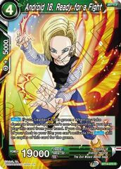 Android 18, Ready for a Fight - BT14-070 - R