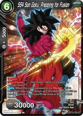 SS4 Son Goku, Prepping for Fusion - BT14-125 - UC - Foil