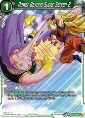 Power Beyond Super Saiyan 2 - BT14-087 - C - Foil
