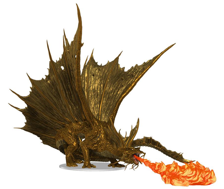 PREORDER: Adult Gold Dragon Premium Figure