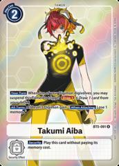 Takumi Aiba - BT5-091 - R - Box Topper