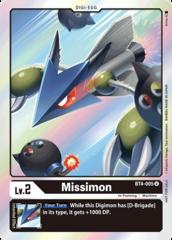 Missimon - BT4-005 (July Evolution Cup 2021 Event Pack)