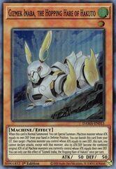 Gizmek Inaba, the Hopping Hare of Hakuto - DAMA-EN015 - Super Rare - 1st Edition