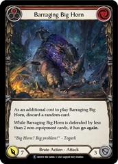 Barraging Big Horn (Red) - Unlimited Edition