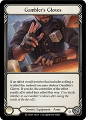 Gambler's Gloves - Rainbow Foil - Unlimited Edition