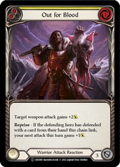 Out for Blood (Yellow) - Rainbow Foil - Unlimited Edition