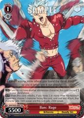 Ban: Rage - SDS/SX03-066S - SR