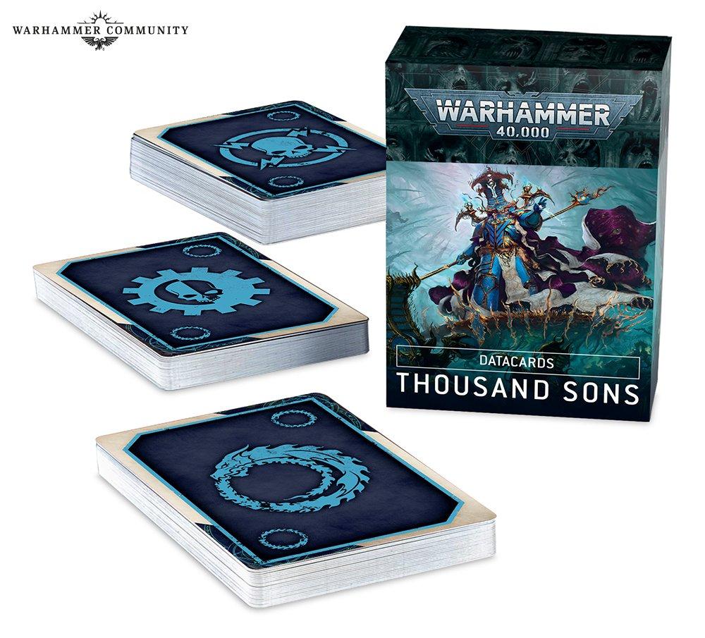 Datacards: Thousand Sons (English)