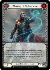 Blessing of Deliverance (Blue) - Rainbow Foil (Extended Art)
