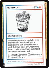 Bucket List (No PW Symbol)