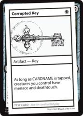 Corrupted Key (No PW Symbol)