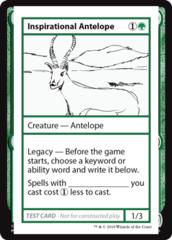 Inspirational Antelope (No PW Symbol)