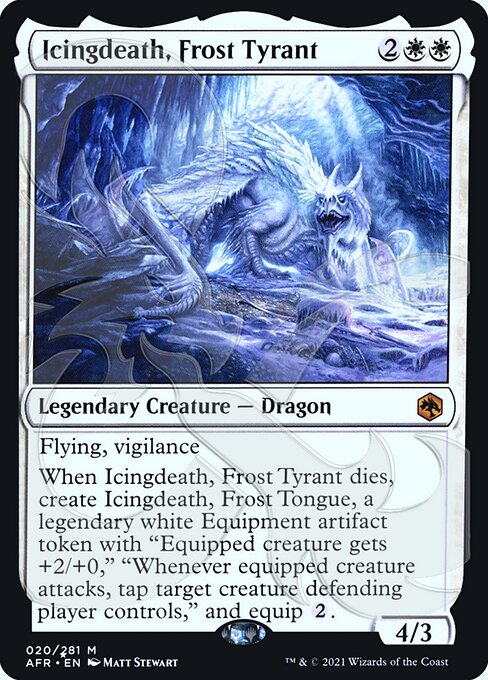 Icingdeath, Frost Tyrant - Foil - Ampersand Promo