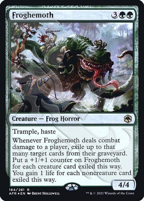 Froghemoth - Foil - Ampersand Promo