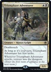 Triumphant Adventurer - Foil - Ampersand Promo