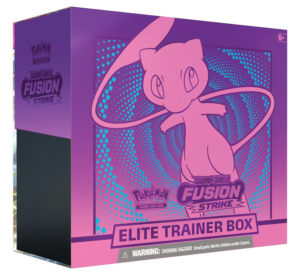 Sword & Shield - Fusion Strike Elite Trainer Box