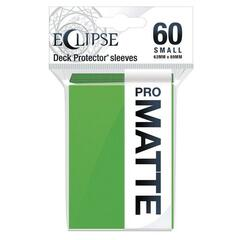 Ultra Pro: Eclipse PRO-Matte Small Deck Protector Sleeves 60ct - Lime Green