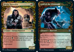 Kessig Naturalist // Lord of the Ulvenwald - Foil - Showcase