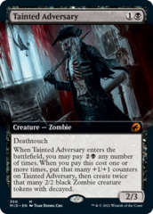 Tainted Adversary - Extended Art