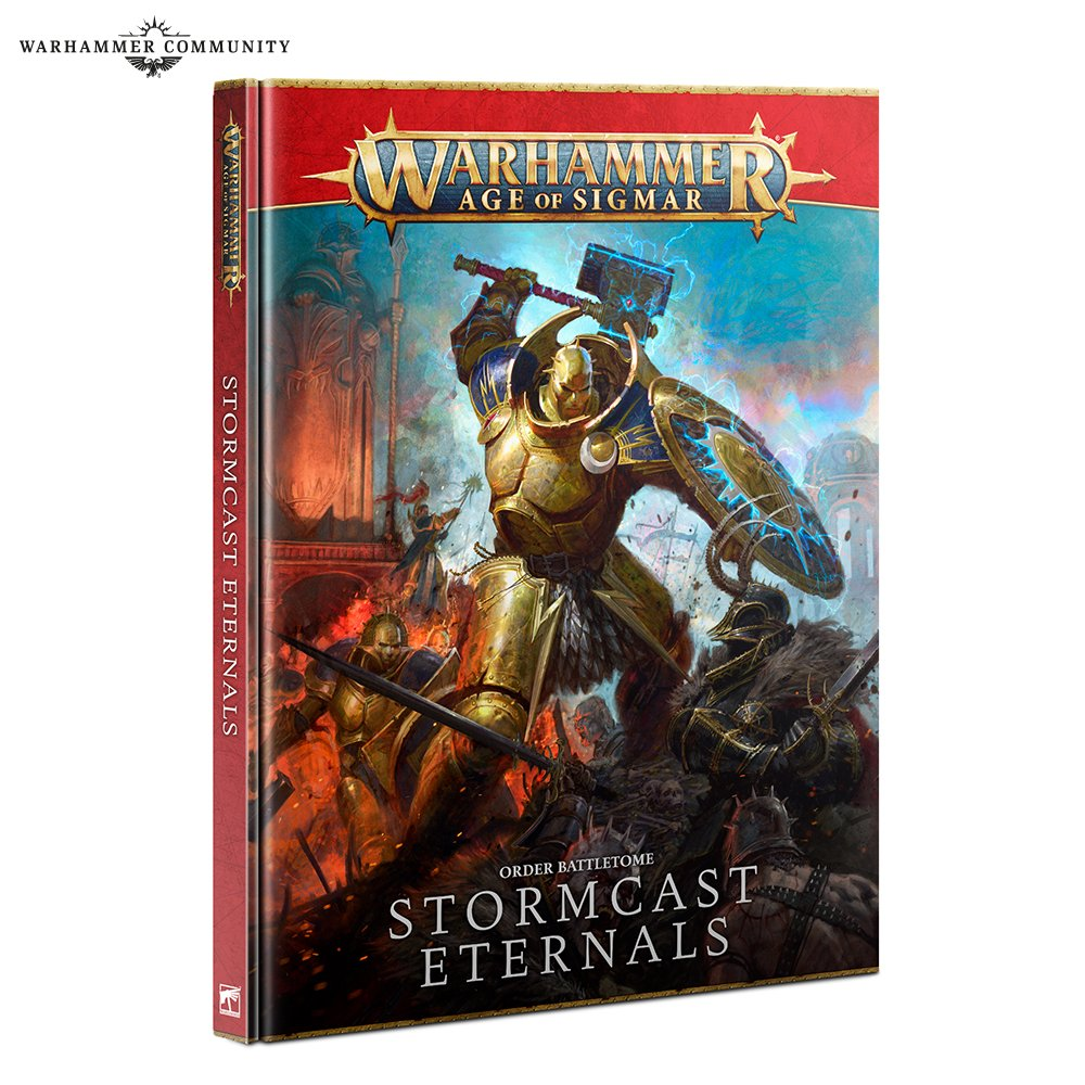 Battletome: Stormcast Eternals (HB) English