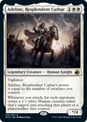 Adeline, Resplendent Cathar - Foil
