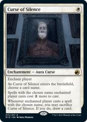 Curse of Silence - Foil