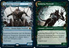 Suspicious Stowaway // Seafaring Werewolf - Showcase
