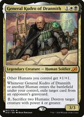 General Kudro of Drannith - The List
