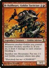 Ib Halfheart, Goblin Tactician - The List
