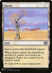 Karoo - The List