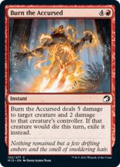 Burn the Accursed - Foil