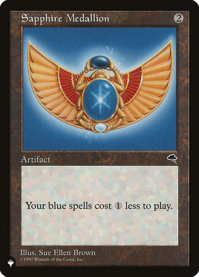 Sapphire Medallion - The List