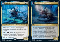 Ludevic, Necrogenius // Olag, Ludevic's Hubris - Foil