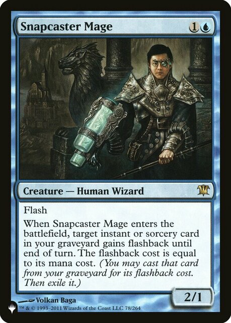 Snapcaster Mage - The List