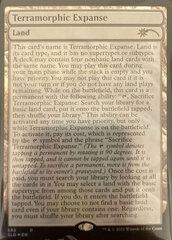 Terramorphic Expanse - Foil - Full Text Lands
