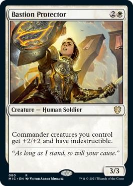Bastion Protector - Commander: Innistrad: Midnight Hunt