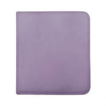 Ultra Pro 12-Pocket Zippered PRO-Binder - Purple