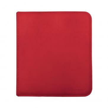 Ultra Pro 12-Pocket Zippered PRO-Binder - Red