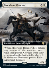 Moorland Rescuer - Extended Art