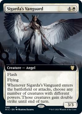 Sigardas Vanguard - Extended Art