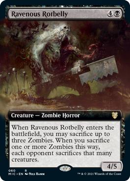 Ravenous Rotbelly - Extended Art