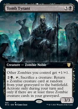Tomb Tyrant - Extended Art