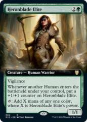 Heronblade Elite - Extended Art