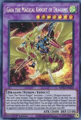 Gaia the Magical Knight of Dragons - MP21-EN124 - Prismatic Secret Rare - 1st Edition