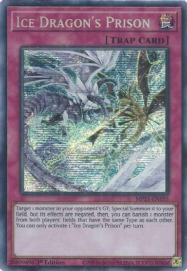 Ice Dragons Prison - MP21-EN155 - Prismatic Secret Rare - 1st Edition