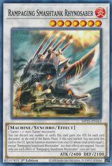 Rampaging Smashtank Rhynosaber - MP21-EN163 - Common - 1st Edition