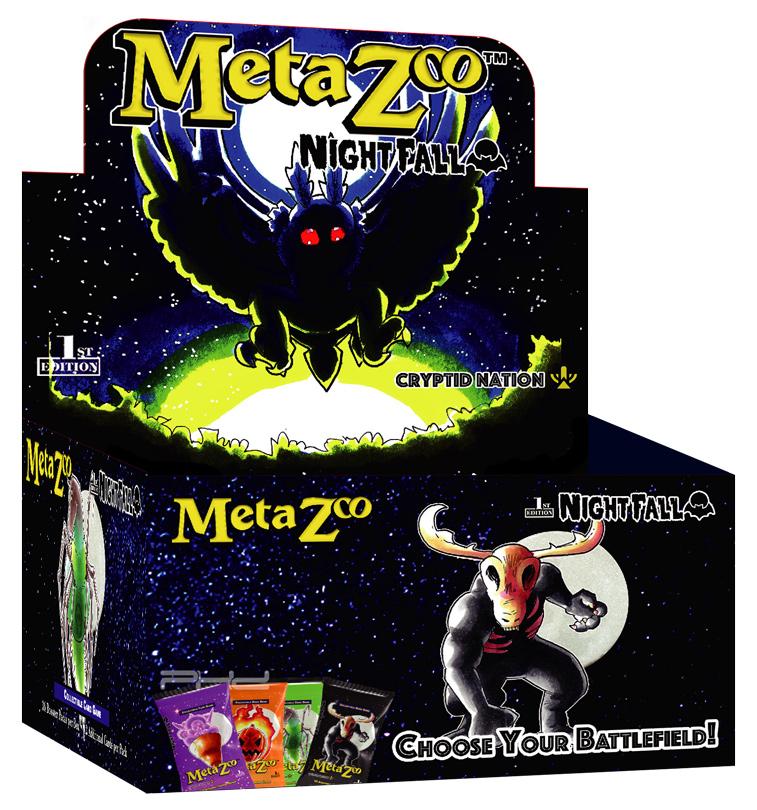 MetaZoo: Cryptid Nation  Nightfall Booster Box Display