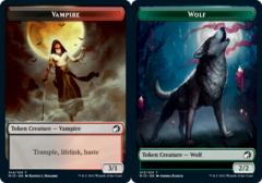 Vampire Token // Wolf Token - Foil
